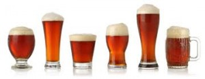 beer glass line