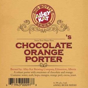 ak choclate orange porter