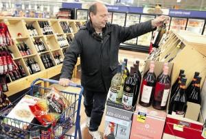 grocery store liquor