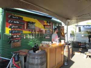 The now-famous Portland Beer Truck.