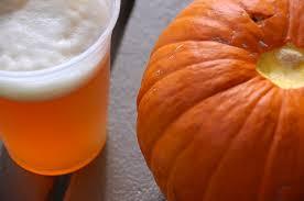 pumpkin and beer