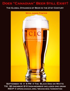 CIC_Beer Event Poster