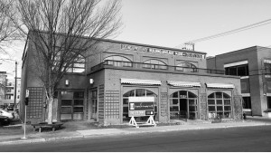 The old Bee Bell Bakery building.