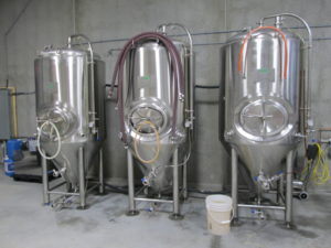 ...and their three small fermenters