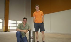 Canmore Brewing owners. Photo courtesy of dailybeer.ca